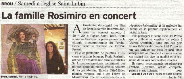 Eglise Saint-Lubin - Brou - 2010