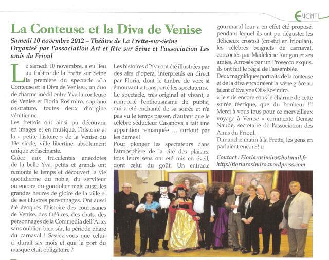 La Voce - N° 72 - Février / Mars 2013
