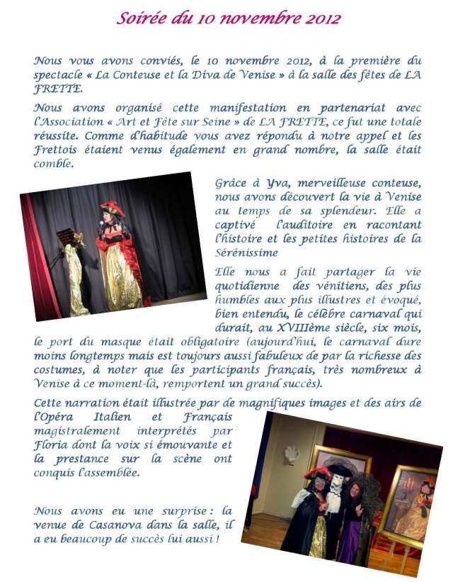 Bulletin de l'Association « Amis du Frioul » - Janvier 2013