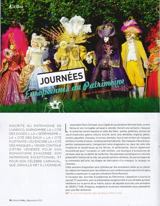 Joinville Mag - Septembre 2015