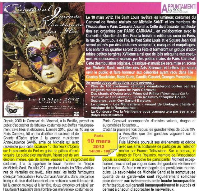 La Voce - N°66- Février 2012
