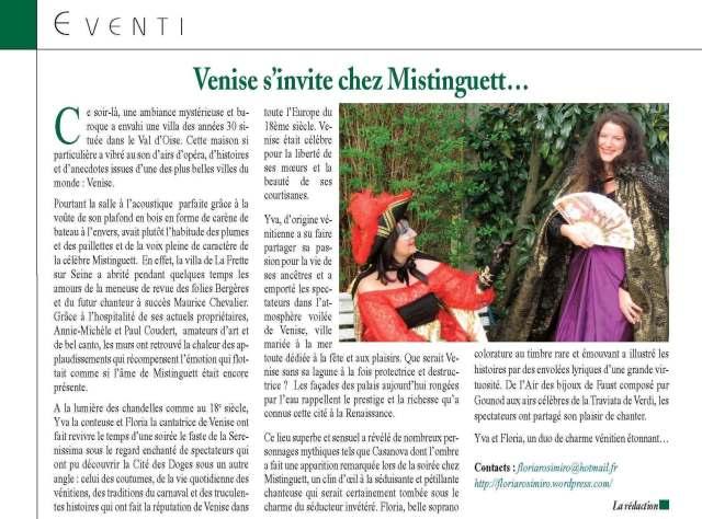 La Voce - N°74 - Juin-Juillet 2013